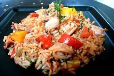 Greek Recipes, Fish Recipes, Cyprus Food, Fish And Seafood, Fried Rice, Food And Drink, Appetizers, Meals, Dinners