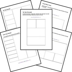 Free Templates for foldables and all kinds of kinesthetic learning.