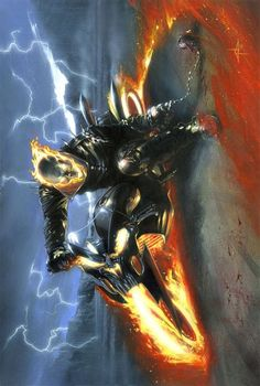 redcell6: Ghost Rider by Gabriele Dell'Otto