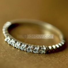 New Arrival 925 Silver with Rhinestone Fashion Lady's Ring : Tidebuy.com