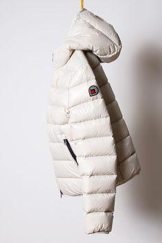 piumino winter white, light down jacket Goose Feel
