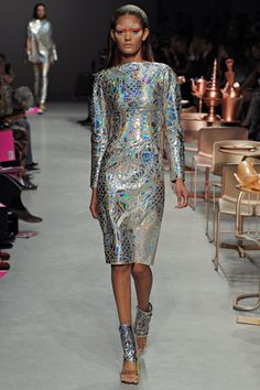 Trend Watch Metallic Holographic Everything