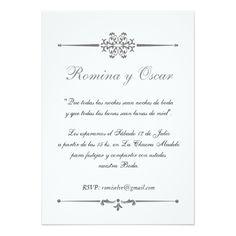 Spanish Wedding Invitation Wording | Wording Sample For Wedding Invitation In Spanish Wedding Ideas