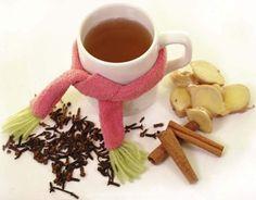 chá de gengibre, canela e cravo para secar barriga