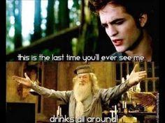TWILIGHT vs HARRY POTTER Memes ~ Funny collection ~ Rob Pattinson ...