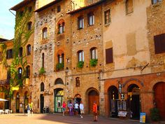 Gimignano, Italy