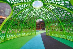 Leaf Skeleton Dome. lump.com.au Melbourne