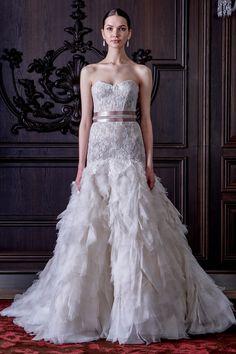 Monique Lhuillier Spring 2016 Wedding Dresses | Weddingbells