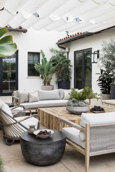 Outdoor Spaces, Outdoor Living, Outdoor Decor, Backyard Patio Designs, Living Spaces, New Homes, House Design, Outdoors, Future