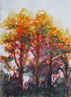 Impressionistic Trees 2