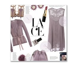 """""""Short on Lace ??"""" by jckallan ❤ liked on Polyvore featuring Valentino, Rebecca Minkoff, Etro, Miu Miu, Christian Dior, Bobbi Brown Cosmetics, ncLA, Kate Spade, lace and contestentry"""