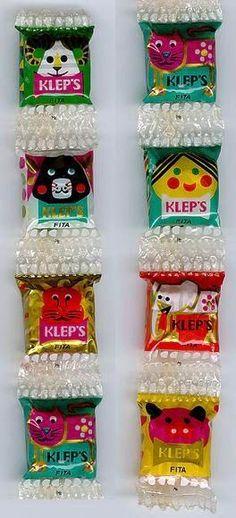 Balinhas de fita Klep's
