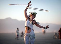 Kaytibunny Roberts performs an impromptu sunrise hoop dance at Burning Man 2012 and finds herself in Rolling Stone Magazine. She lives in Ojai, California, USA. A Hooping.org Photo of the Day.