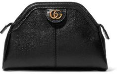 Gucci - Re(belle) Textured-leather Clutch - Black Gucci Gucci - Re(belle) Textured-leather Clutch - Black $750  #Women     #Clothing #Bags     #Backpacks     #Clutches     #Evening    #Hobos     #Satchels     #Shoulder     #Duffels & Totes     #Wallets