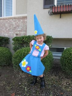 cute costume- garden gnome