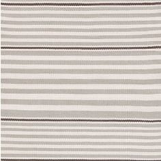 Dash & Albert Beckham Stripe Platinum Indoor/Outdoor Rug DARDB186