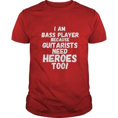 Funny Bass Guitar Shirts: I am Bass Player because - Gift  #gift #ideas #Popular #Everything #Videos #Shop #Animals #pets #Architecture #Art #Cars #motorcycles #Celebrities #DIY #crafts #Design #Education #Entertainment #Food #drink #Gardening #Geek #Hair #beauty #Health #fitness #History #Holidays #events #Home decor #Humor #Illustrations #posters #Kids #parenting #Men #Outdoors #Photography #Products #Quotes #Science #nature #Sports #Tattoos #Technology #Travel #Weddings #Women