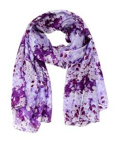 La FiorentinaAbstract Floral Silk Scarf
