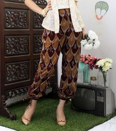 ikat pants | Gandok Kiwo Pant | DhieVine | Redefine You