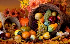Ah, Thanksgiving, with all of the awareness it brings, and the universal symbol of the cornucopia, the horn of plenty, turning our thought to that of of abundance and nourishment. Description from spirituallifeworks.blogspot.com. I searched for this on bing.com/images