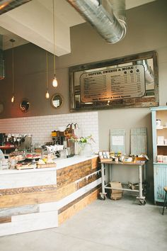 UNA CAFETERÍA CON ENCANTO | | Harmony and design |