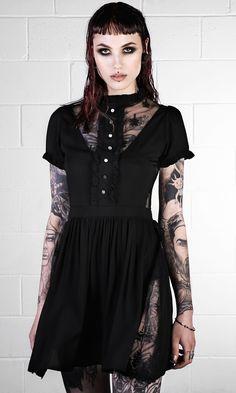 For over leggings. Disturbia Clothing. Phase Dress