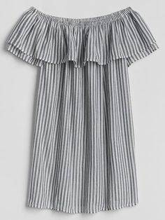 bce52feb62e77 Striped linen off-the-shoulder top : FactoryWomen Shirts & Tops in ...
