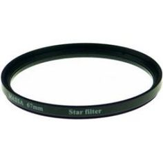 New MASSA 6 Cross Point Star Lens Filter 67mm