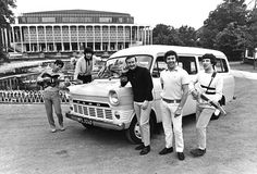The Tremeloes with their Ford Tansit Mini Bus The Tremeloes, The Isley Brothers, Silence Is Golden, Cat Stevens, Roy Orbison, Buddy Holly, Twist And Shout, Gillingham, Ford Transit