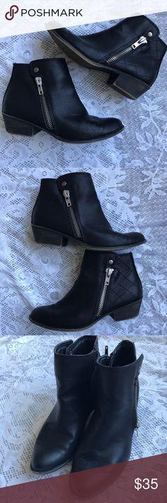 Madden Girl Black Ankle Booties Madden Girl Black Ankle Booties - Size 6.5. Great used condition. Madden Girl Shoes Ankle Boots & Booties