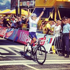 Tour de France 2013. 20-07-2013, 20^Tappa. Annecy - Annecy-Semnoz. Per Nairo Quintana (1993) esordio col botto al Tour: Tappa, maglia bianca di miglior giovane e 2° posto nella graduatoria generale