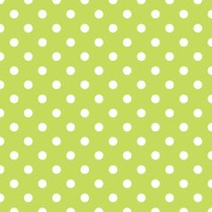 Green and White Polka Dots - Background Labs