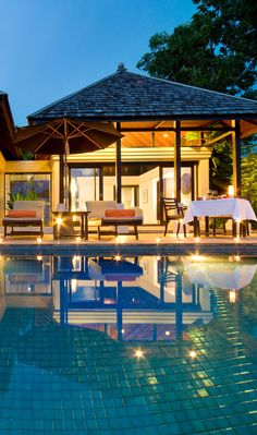 You won't want to leave your private villa.