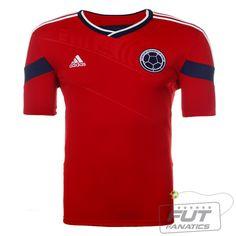 57c44db65a Camisa Adidas Colômbia Away 2014 - Fut Fanatics - Compre Camisas de Futebol  Originais Dos Melhores