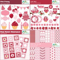 valentine cupcake papers