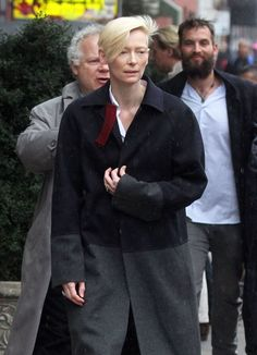 Sandro Kopp Photos: Tilda Swinton and Her Boyfriend Out in NYC