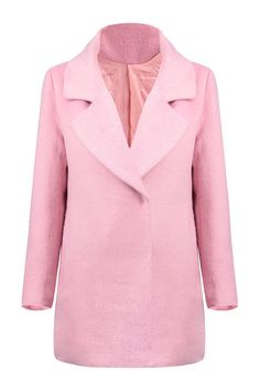 The coat is mainly made from polyester and acrylic and wool. It is of regular fit design.