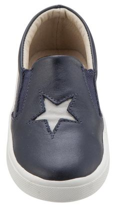 save off 4308b 8d878 These premium leather sneakers slip on and feature elastic on the sides to  guarantee a perfect
