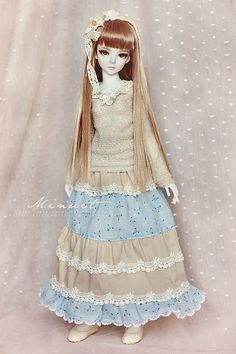 Long mori skirt for Narae/Minisup girl