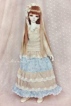 Long mori skirt for Narae/Minisup girl