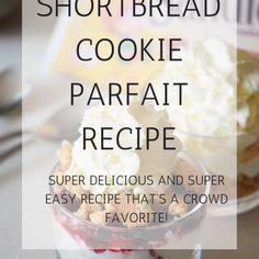 Shortbread Cookie Parfait