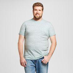 Men's Big & Tall Crew Neck T-Shirt