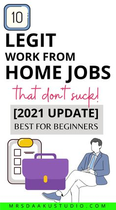 This contains: Work from home jobs that don't suck. If you want work from home jobs that don't need a phone or going out of your house, you are in luck! Flexible non-phone jobs that allow background noise. #nonphonejobs #workfromhome #makemoneyonline #earnmoneyfromhome #onlinejobsfromhome #workathomejobs #sidejobstomakemoney #workingfromhome Work From Home Options, Work From Home Careers, Legit Work From Home, Legitimate Work From Home, Online Side Jobs, Online Jobs From Home, Earn Extra Money Online, Earn Money From Home, Amazon Jobs