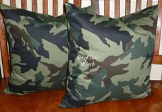 Accent Throw Pillow Covers   Set of Two 18inch  Moss by berly731, $32.00