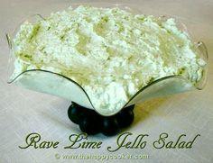 Rave Lime Jello Salad