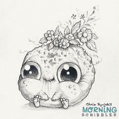 Full bloom.   #morningscribbles | by CHRIS RYNIAK