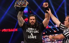 Roman Reings, Wwe Roman Reigns, Big Dogs, Husband, Wrestling, Fan, Concert, News, City