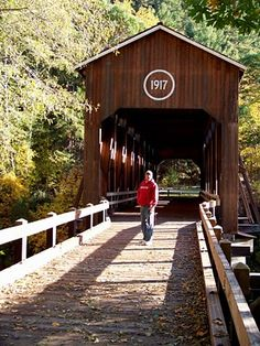 I would like to find all the covered bridges we used to go to in Oregon