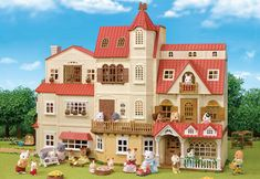 [SF] Red Roof House Series - Complete Bundle buy on Sylvanian Families. , offer Sylvanian Families at discounted rate in Sylvanian Families Family Halloween, Halloween House, Cosy Cottage, Sylvanian Families House, Le Cosy, Poupées Our Generation, Sylvania Families, Calico Critters Families, Station Essence