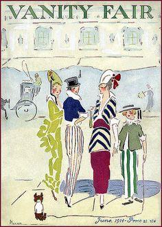 vintage Vanity Fair cover: vintage Vanity Fair cover